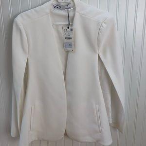 NWt cape sleeve Zara blazer